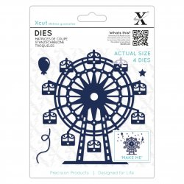 Fustella sottile XCUT Dies (4pcs) - Ruota panoramica - XCU503344