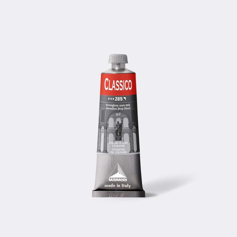 Colore ad olio Extrafine Classico MAIMERI 60 ml. - Vermiglione scuro imit. - 285