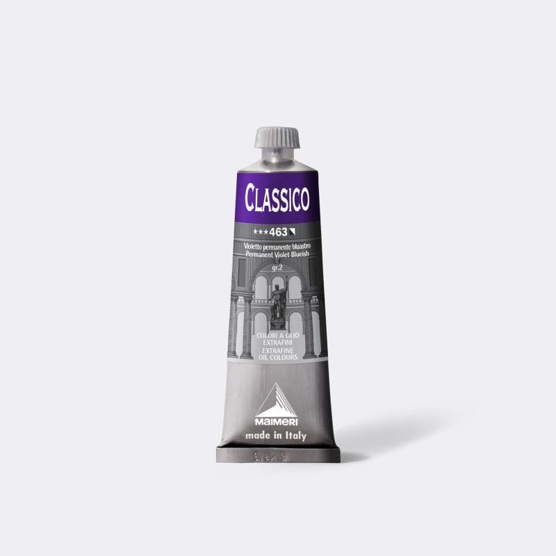 Colore ad olio Extrafine Classico MAIMERI 60 ml. - Violetto permanente bluastro - 463