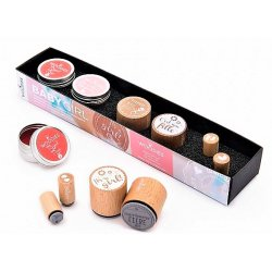 Kit Timbri Woodies Baby Girl WS-0008E