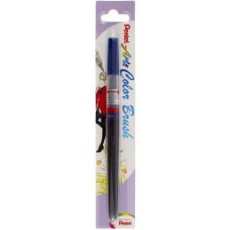 Pentel Color Brush Ricaricabile con punta a pennello- Acquarello Blu Acciaio