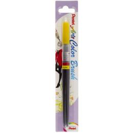 Pentel Color Brush Ricaricabile con punta a pennello- Acquarello Giallo