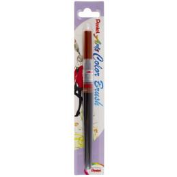 Pentel Color Brush Ricaricabile con punta a pennello- Acquarello Marrone
