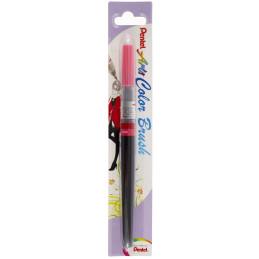Pentel Color Brush Ricaricabile con punta a pennello- Acquarello Rosa