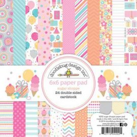 Blocco carta Scrap Sugar Shoppe 4202 15x15 cm