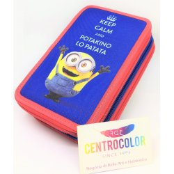 Astuccio Ovale Minions - Keep Calm and Eat Banana