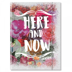 Cartellina 3 lembi A4 Dimensione Danza - Here and Now - S100018