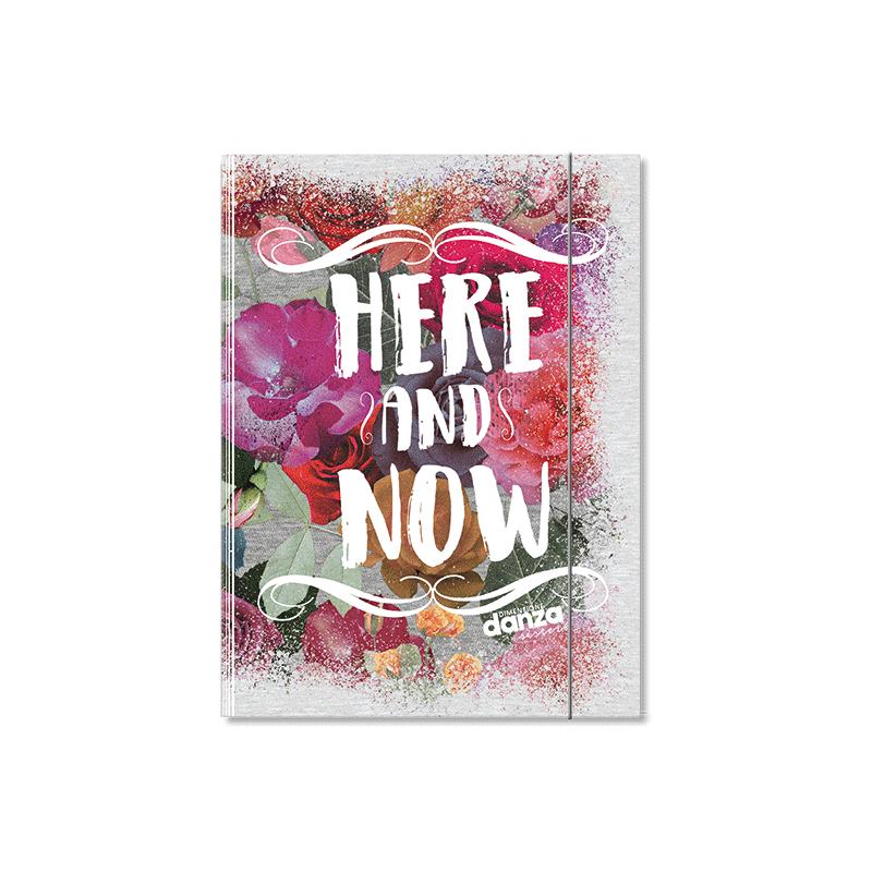 Cartellina 3 lembi A4 Dimensione Danza - Here and Now - S100018