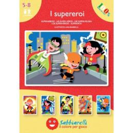 Album - I supereroi - 5 disegni (15x20 cm)