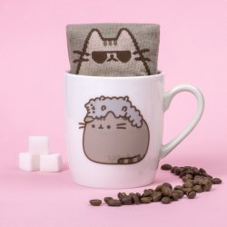 Tazza e calze Pusheen - Pusheen and Stormy- PUSHSMSTR