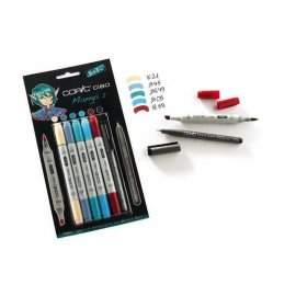 "COPIC Ciao Set 5+1 ""Manga 2"" 22075557"