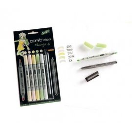 "COPIC Ciao Set 5+1 ""Manga 4"" 22075561"