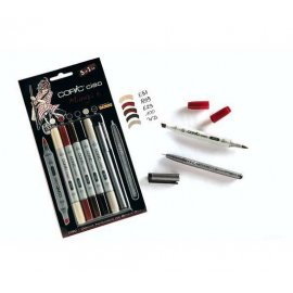 "COPIC Ciao Set 5+1 ""Manga 5"" 22075562"