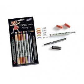"COPIC Ciao Set 5+1 ""Manga 6"" 22075563"