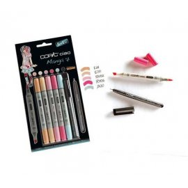 "COPIC Ciao Set 5+1 ""Manga 7"" 22075564"