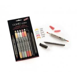 "COPIC Ciao Set 5+1 ""Pastelli"" 22075555"