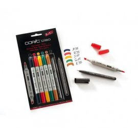 "COPIC Ciao Set 5+1 ""Tinte"" 22075551"