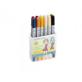 "COPIC Ciao Theme Set Manga da 12 ""School Uniform"" 22075712"