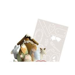 Cartamodello Stancil - Presepe - CRSTE-005