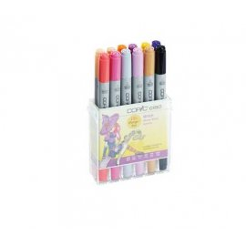 "COPIC Ciao Theme Set Manga da 12 ""Streghe"" 22075713"