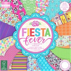 "Carte blocco scrap - Fiesta fever - FEPAD191 30x30cm (12""x12"")"
