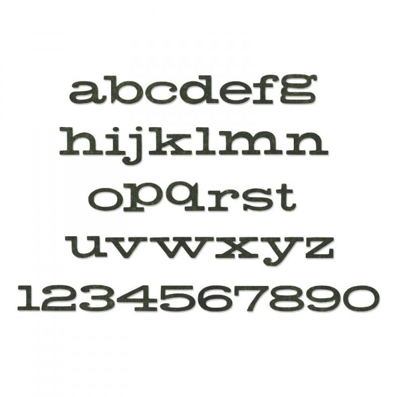 Sizzix Bigz XL Alfabeto 662430