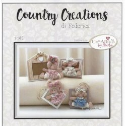 Cartamodello Federica Country Creations Creattiva - Bomboniere con quadretti - P1925