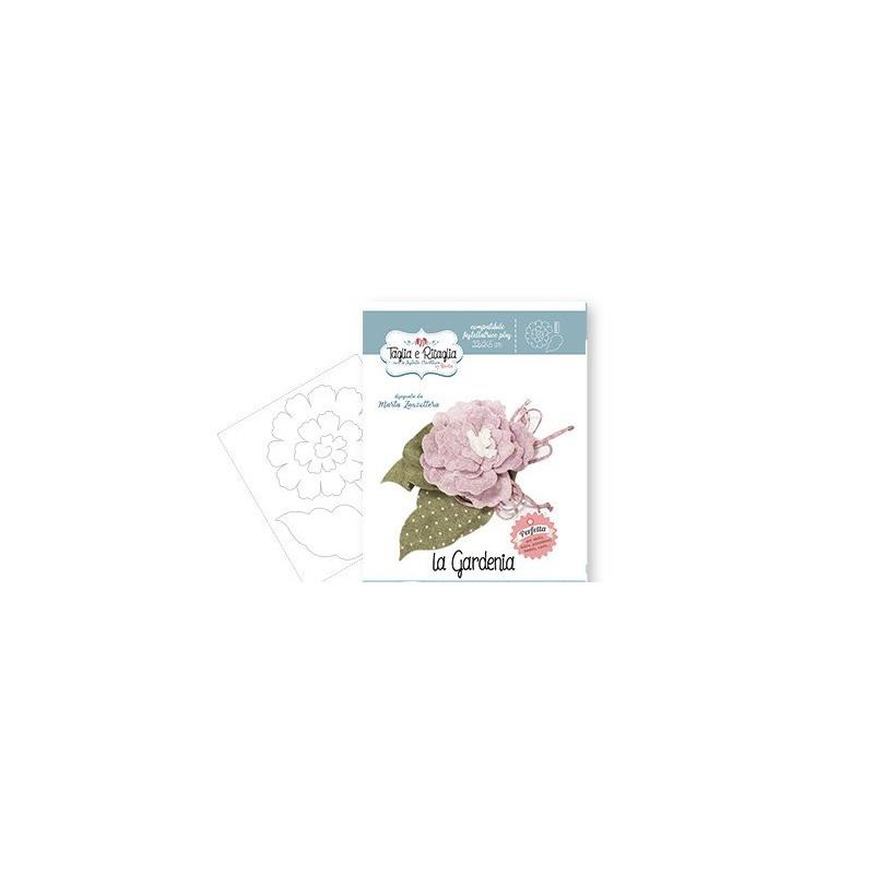 Fustella Sizzix  - Taglia e Ritaglia - La Gardenia - CRFS001200